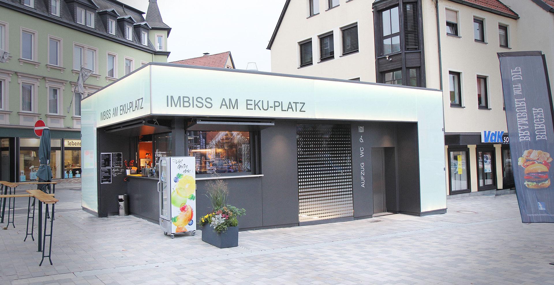 Imbiss am EKU-Platz